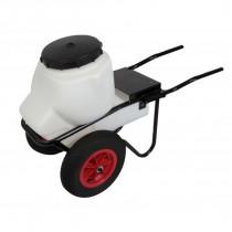 Carretilla 100 lit. 2 ruedas (chasis y depósito)