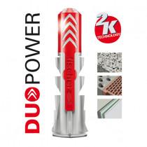 Taco con tornilo FISCHER DuoPower