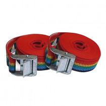 Trinquete PONSA 25mmx3m arco iris