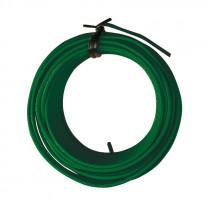 Alambre hierro plastificado verde 2,00 mmx12 m