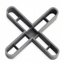 Crucetas RUBI 7 mm gris