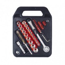 Maletín llaves de vaso 47 piezas RATIO 7344