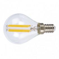 Bombilla con filamento LED mini globo transparente DUOLEC...