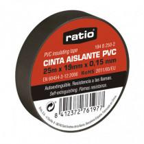 Cinta aislante PVC RATIO 25 m
