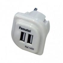 Cargador USB doble FAMATEL