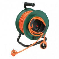 Enrollacable DUOLEC H05VV-F 3G1.5 tambor naranja