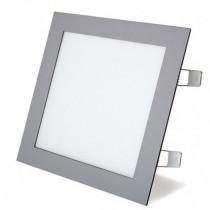 Aplique cuadrado empotrable LED DUOLEC Oporto 22,5x22,5cm...