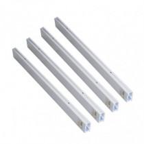 Kit perfiles aluminio sobreponer pantalla LED DUOLEC Glasgow