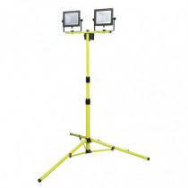 Foco proyector doble LED DUOLEC WorkLine 5000K 2x30W 4800...