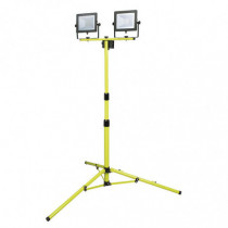 Foco proyector doble LED DUOLEC WorkLine 5000K 2x50W 8000...