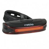 Luz trasera roja LED recargable RATIO BikeLight5577
