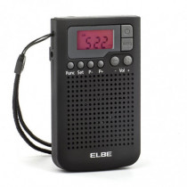 Radio AM/FM ELBE de bolsillo digital RF-93