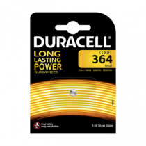 Pila botón D364 DURACELL long Lasting Power