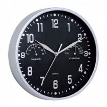Reloj decoración termómetro/higrómetro