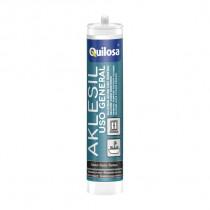 SILICONA AKLESIL - 0.28L - BLANCA