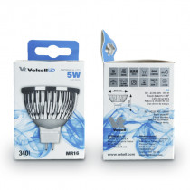 BOMBILLA DICROICA LED VEKELL 5W/MR16