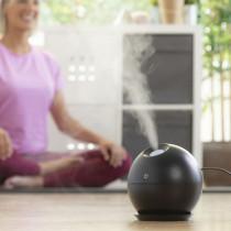 Mini humidificador y difusor de aromas INNOVAGOODS Black