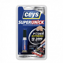 Adhesivo instantáneo CEYS Superunick poder invisible, 3gr