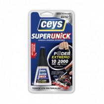 Adhesivo instantáneo CEYS Superunick pincel, 5gr