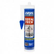 Sellador elástico CEYS TOTAL-TECH transparente, 290ml