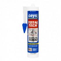 Sellador elástico CEYS TOTAL-TECH blanco, 290ml