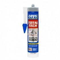 Sellador elástico CEYS TOTAL-TECH gris, 290ml