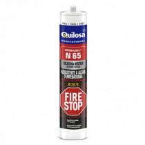 Silicona neutra altas temperaturas QUILOSA Fire Stop N-65