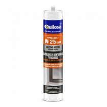 SILICONA ORBASIL N25 - ALUMINIO BLANCO - 300ML