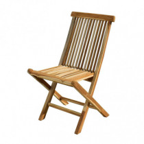 Juego 2 sillas jardín plegable sin brazos Colonial II