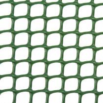 Malla plástica cuadrada - verde 420 gr/m2