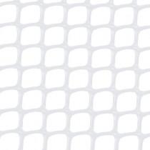 Malla plástica cuadrada - blanca 420 gr/m2