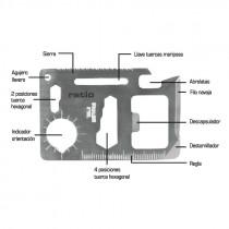 Multi-herramienta 15en1