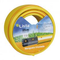 Manguera riego - tricotada 3 capas diámetro 15 mm