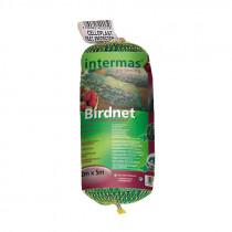 Malla plástica anti-pájaros