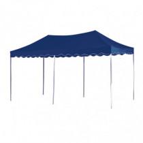 Carpa de jardín 6x3 azul plegable
