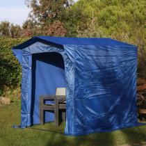 Cobertizo plegable para jardín 1,73xh.2 m