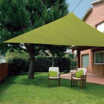 Toldo vela sombreador impermeable - triangular 3,6 m