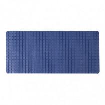 Alfombra baño - azul 36x76 cm