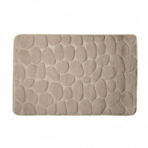 Alfombra baño - beige 50x80 cm