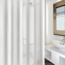 Cortina baño - forro transparente