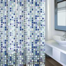 Cortina baño - Concept azul
