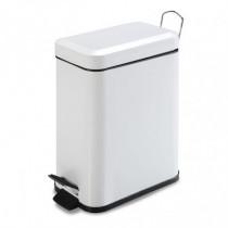 Cubo pedal sanitario - 5 litros lacado blanco