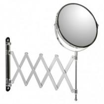 Espejo cosmética - metal cromado extensible