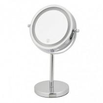 Espejo cosmética - con luz LED 3 aumentos
