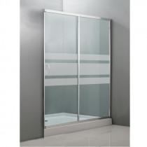 Mampara ducha frontal 1 puerta
