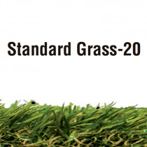 Césped artificial - Standard Grass espesor 20 mm 2x4 m