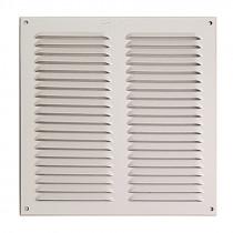 Rejilla de ventilación blanca. 10 unidades