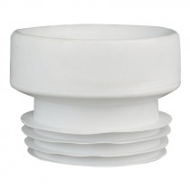 Manguito conexión wc junta labiada flexible