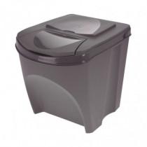 Set 3 cubos reciclaje