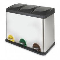 Cubo pedal triple - ecológico